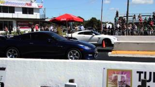 FL2K14 8 Second Supras + GTRs 1/4 mile 1080p