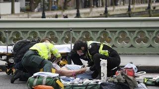 TERROR ATTACK LONDON BREAKING: Knifeman rams car into crowd KILLING MANY at Parliament In LONDON ||+
