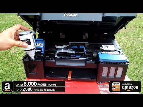 Canon G2000 Complete Installation | Best Refillable Ink Tank Printer | Best Price On Amazon