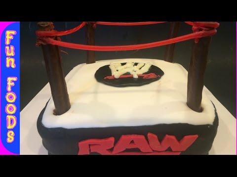 Wrestling Cake WWE | How to Make a WWE Wrestling Cake