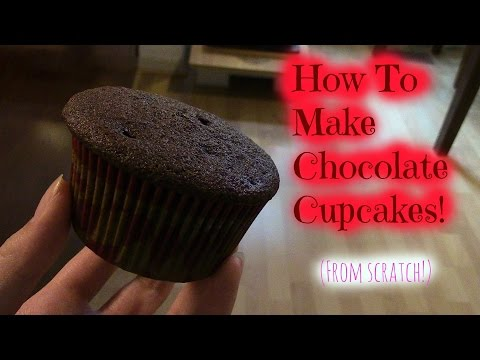 How To Make Chocolate Cupcakes From Scratch!
