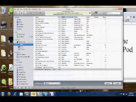 How to Delete Songs off of your iPod Touch ISO iPhone 3G Update 4G Update
