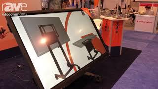 InfoComm 2018: e-Box Discusses Tilt & Table Height Adjustable Mount
