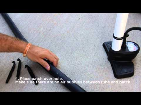 How To Patch A BMX Tube