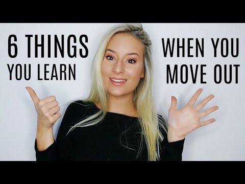 6 Thing You Learn When You First Move Out | COCO Chanou