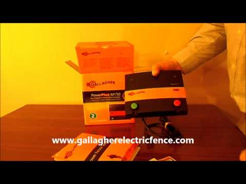Gallagher M150 electric fence charger