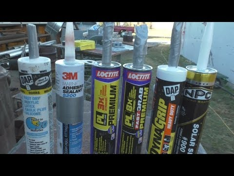 Construction Adhesive Test - 3M 5200, PL Fast Grab, DAP DynaGrip, and more