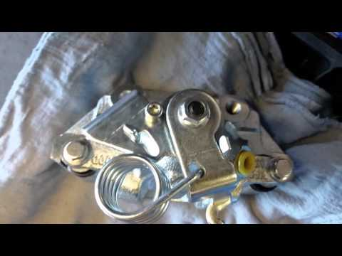 2011 Ford Explorer rear brake job. Video 1.