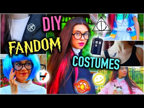 DIY Fandom Last Minute Halloween Costume Ideas!  | Cheap and Easy!