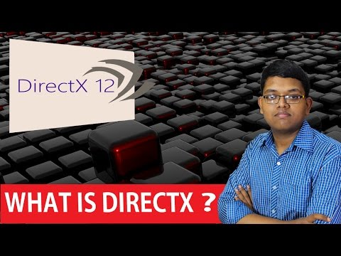 WHAT IS DIRECT X ?? HOW IS IT WORKS ? in hindi