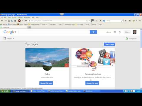 Finding Your Google + Business Page URL