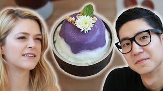 We Tried Korean Purple Desserts