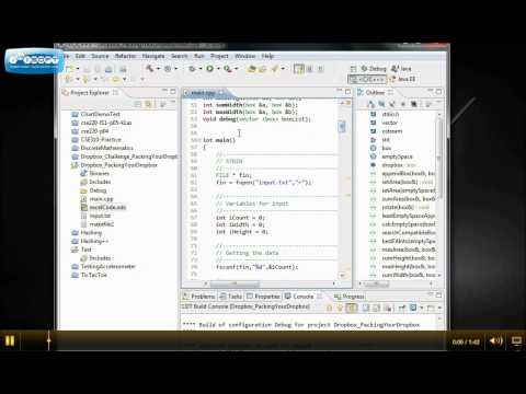 Setup Eclipse C++ Environment with MinGW + gdb Part 2