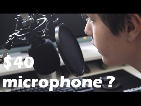 Neewer NW-700 Condenser Microphone Kit - Youtube on a Budget #1