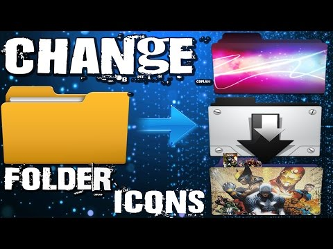 Customize Folder Icons | How To Change Desktop Folder Icon in windows XP|7|8|8.1