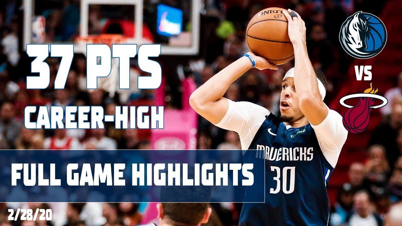 Seth Curry (Career-High 37 Points) Highlights vs. Miami Heat
