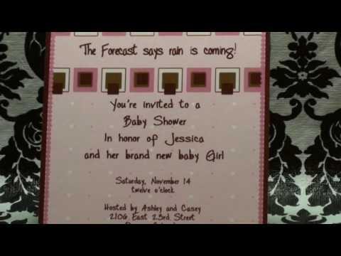 Birth Announcement - My Baby Prints - mbpA6