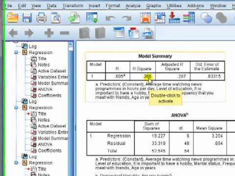 SPSS for newbies: Why having a high R-squared in regression could be a bad thing