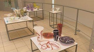 Līvānos Atklāj Aleksandra Logvina Stikla Darbu Izstādi