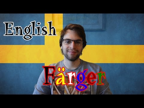Learn Swedish | The Colors | Lesson 28
