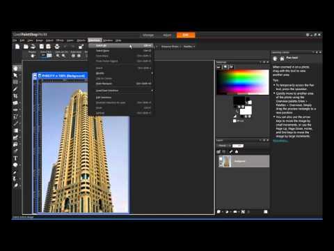 Corel PaintShop Pro X4 - Background Removal