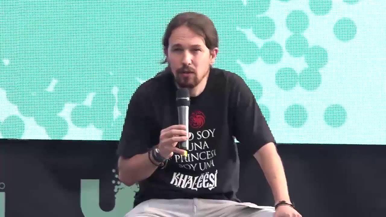 Pablo Iglesias clausura la Universidad de Podemos