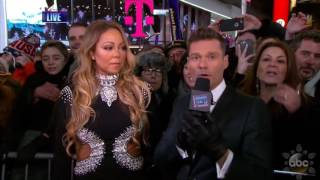 Mariah Carey Interview With Ryan Seacrest On New Year S Rockin Eve 20