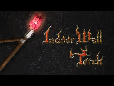 How to Make: Indoor Medieval Torch