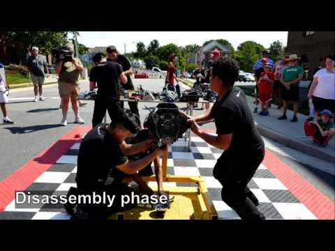 Time-Lapse Video of V-8 Engine Disassembly and Reassembly - 4K Video