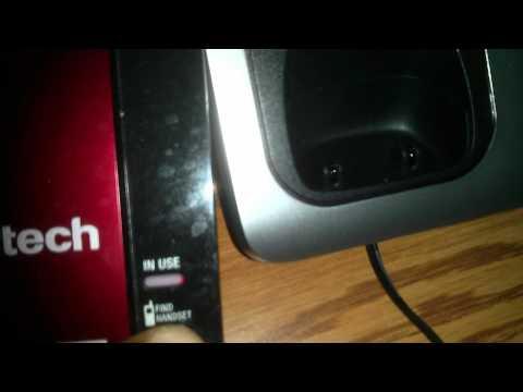 vtech cordless handset, how to register