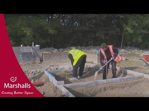 Installing a Type C Marshalls Priora permeable pavement   MarshallsTV