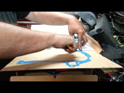 Proper use of gasket sealer