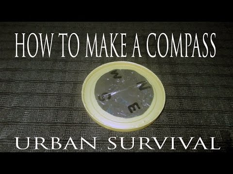 How To Make A Compass-EMERGENCY (Urban Survival)