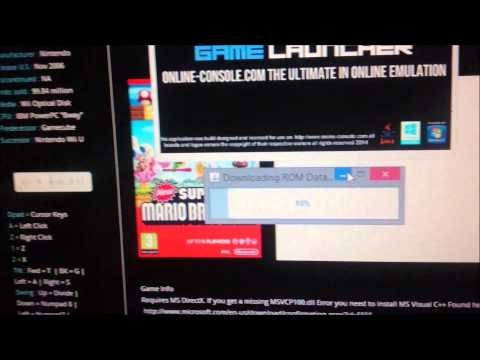 How To Play Nintendo Wii Games Online From the Browser NEW 2014