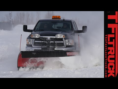 Snow Plowing 101: How to Plow & have fun in a Ram 2500 in the Winter