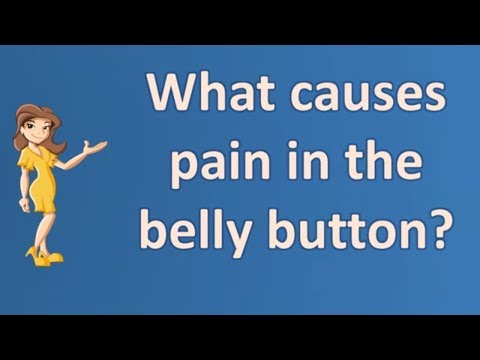 What causes pain in the belly button ? | Good Health for All