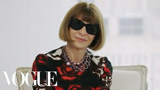 Anna Wintour Breaks Down the Best Moments of New York Fashion Week   Vogue