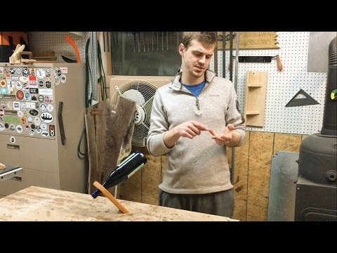 How To Make a Wine Bottle Balancer