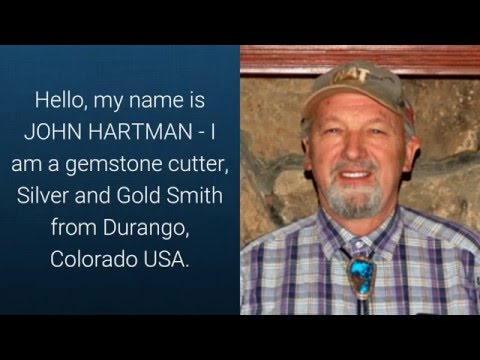 Handmade Turquoise Gold and Silver Jewelry by John Hartman