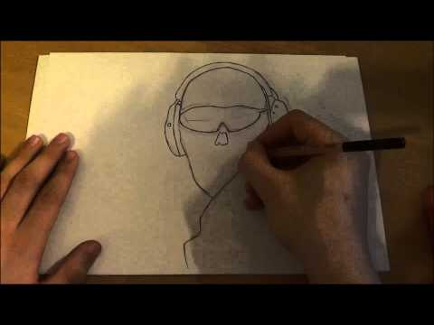speed draw-(ghost-MW2)