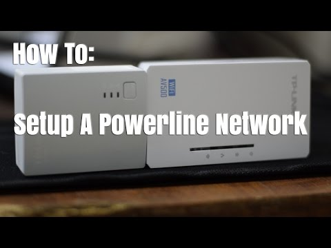 How To Set Up a Powerline Adapter Network - with WiFi Range Extending