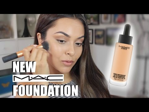 MAC Studio Waterweight Foundation Review and Demo - TrinaDuhra