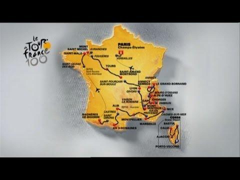Tour de France 2013: the route