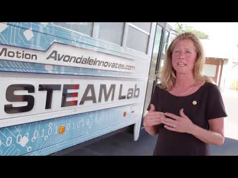 Connect2STEM Afterschool Excellence Award - Avondale School District STEAM Bus