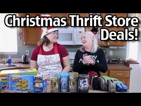 Christmas Thrift Store Deals!