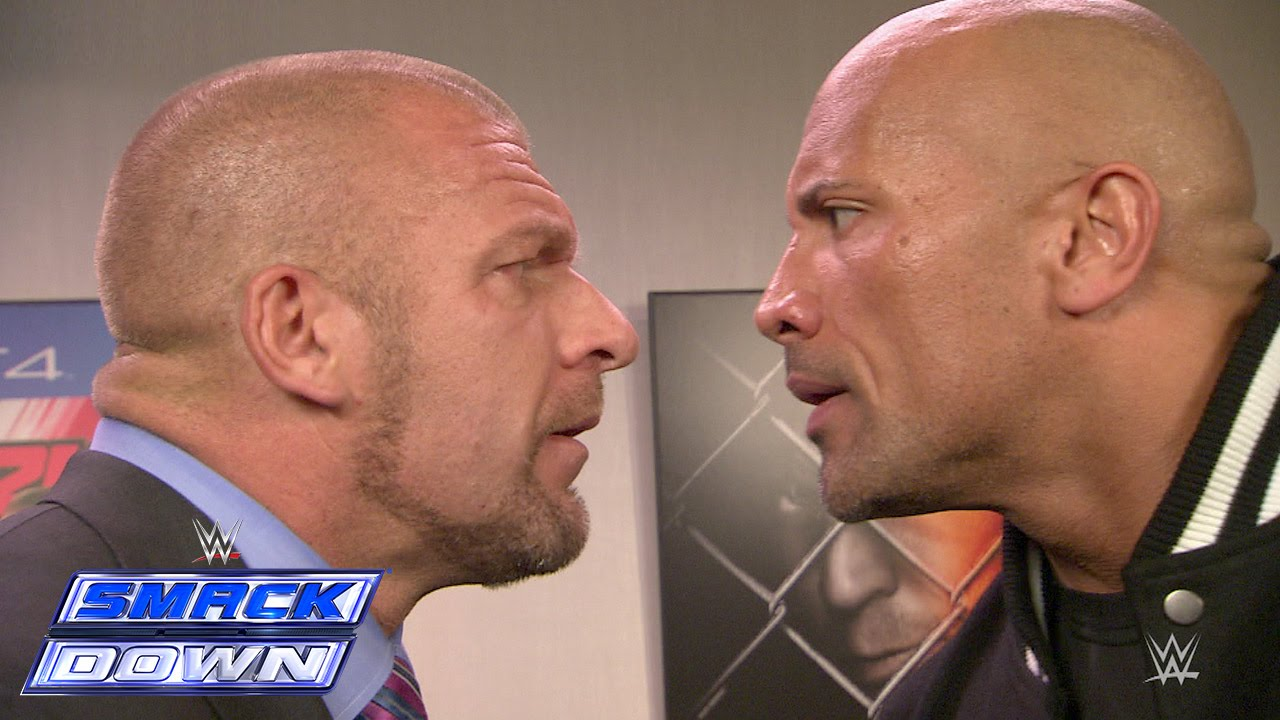 The Rock and Triple H take an aggressive stroll down memory lane: SmackDown, Oct. 10, 2014