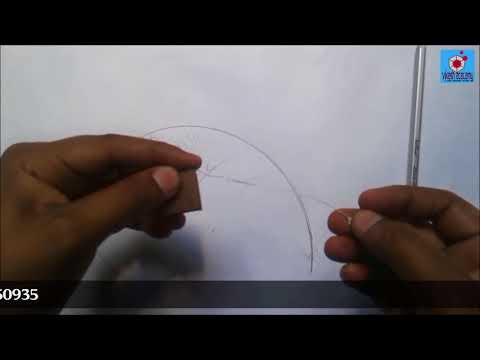 involute of square with practical demonstration & solved problem.