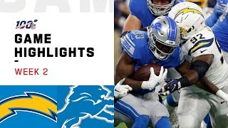 Chargers vs. Lions Week 2 Highlights   NFL 2019
