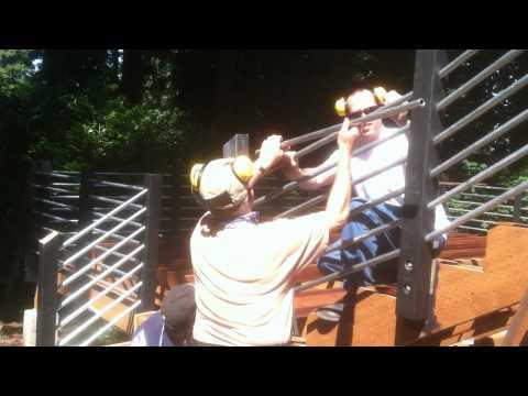 Deck Railing Installation