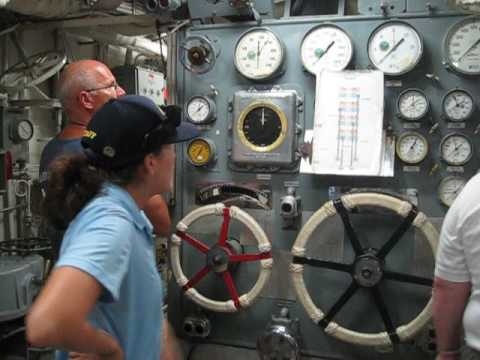 Gene Bernhardt  Tour 2 as USS Missouri plankholder Boiler Tech